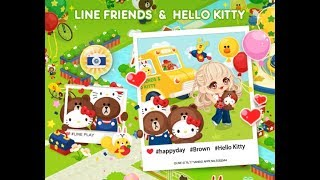 Line Play | How to get a Hello Kitty Badge ♡ Line Friends x Hello Kitty Contest Event