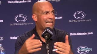 Penn State 63 - Kent State 10: James Franklin
