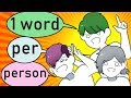 By the way, One Word At A Time (GAME) thumbnail