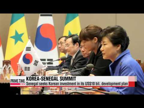 Korea, Senegal agree to cooperate in infrastructure, maritime affairs, agricultu