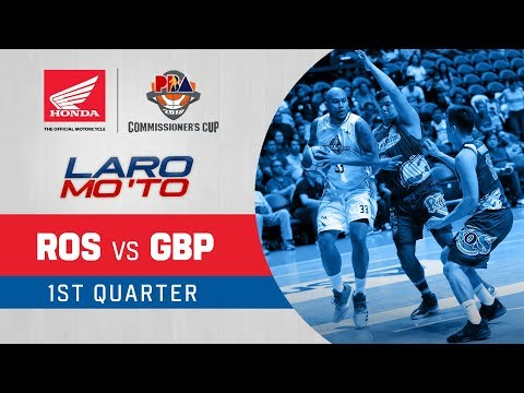 Rain or Shine vs. GlobalPort - Q1 | PBA Commissioner's Cup 2018