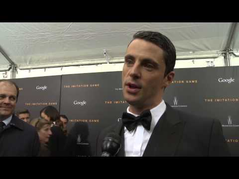 The Imitation Game: Matthew Goode Red Carpet Movie Premiere Interview
