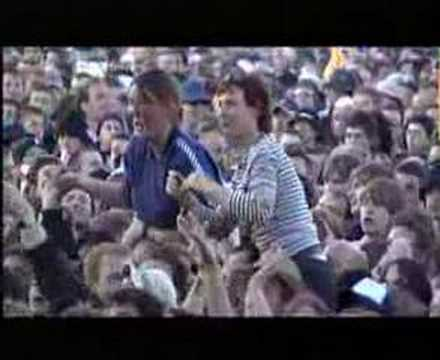 Thumbnail of video Morrissey - First Of The Gang To Die - Live At Glastonbury