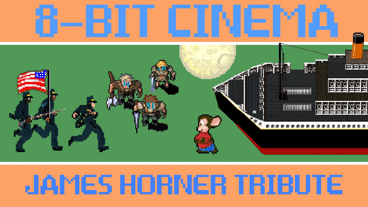 [Old School Video Games Pay Tribute To James Horner] Video