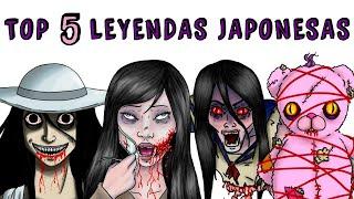 TOP 5 LEYENDAS JAPONESAS | Draw My Life Kuchisake-onna, Teke-Teke, Hachisakusama, Hikori-Kakurenbo