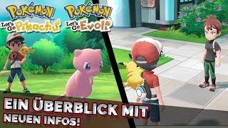 Pokemon Lets Go Pikachu & Evoli | Ein Überblick mit neuen Details von der E3!