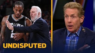 Skip and Shannon on reports Gregg Popovich met with Kawhi in Los Angeles   NBA   UNDISPUTED