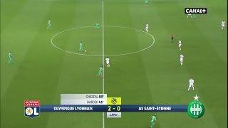 Ligue 1 - 1er Derby Parc OL - OL 2-0 ASSE - 8ème Journée