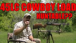 45LC COWBOY LOAD HUNTABLE?