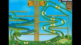Детская Игра Мультфильм - Приключения Ам Няма - Om Nom - Перережь веревку: Ам Ням пьет воду #5