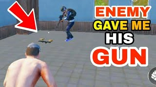 ENEMY gave me his GUN | PUBG FUNNY AND TROLLING MOMENTS