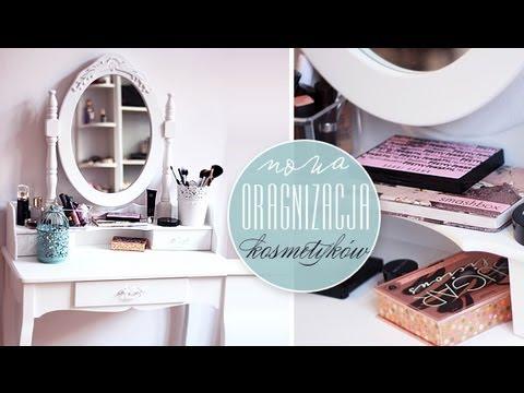 Organizacja Kosmetyków I Biżuterii, Toaletka, Ulubione Produkty Do Makijażu.