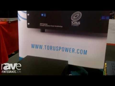 Integrate 2016: Torus Power Exhibits the TOT Series Torodial Isolation Power Amp Units