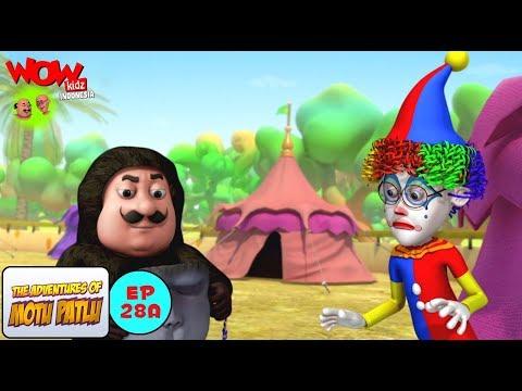 Motu Patlu di Pertunjukan Sirkus - Motu Patlu dalam Bahasa - Animasi 3D Kartun thumbnail