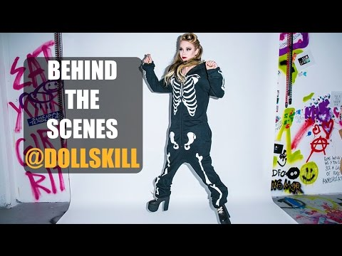 BEHIND THE SCENES @ DOLLSKILL!
