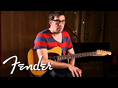Graham Coxon discusses his signature Telecaster®