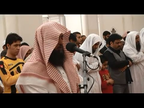 AMAZING! Salatul Eisha by Sheikh Mahmoud Khalil Al Qari - Masjid Qiblatain - Madinah Munawwarah