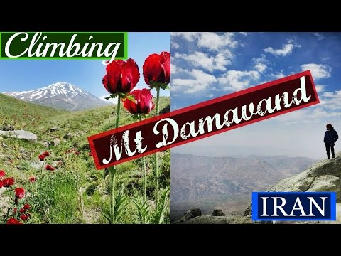 CLIMBING MT DAMAVAND | IRAN | Travel Vlog