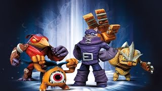 Battles and Capture Sequences of the Dark Villains in Skylanders: Trap Team
