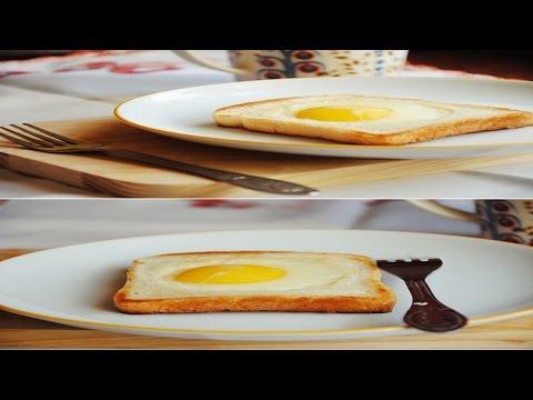Как жарить яйца. How to fry an egg.