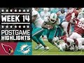 Cardinals vs. Dolphins | NFL Week 14 Game Highlights MP3