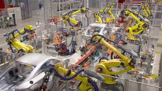 FANUC Industrial Robots at AUDI