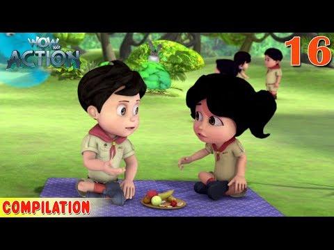 Vir : The Robot Boy | Vir Action Collection - 16 | Action series | WowKidz Action