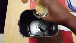 How to make cinnamon bread in Hamilton Beach Breadmaker