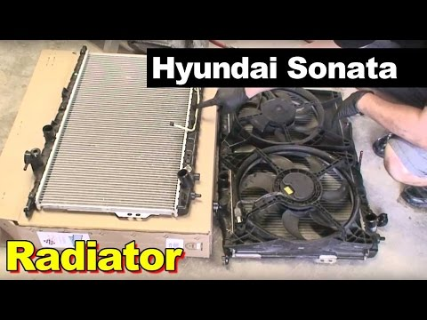 2002 Hyundai Sonata Radiator Replacement