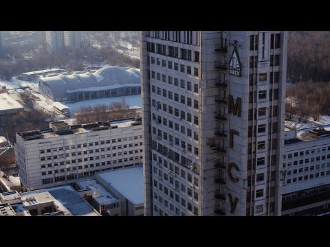 NEWSCOPTER -  МГСУ (легко-атлетический манеж) 4К