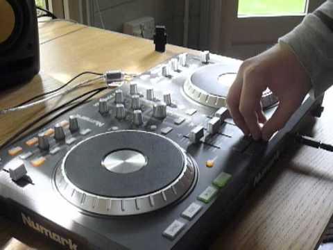 Caution DJ Tutorial - Dubstep Cutting with the Numark Mixtrack Pro