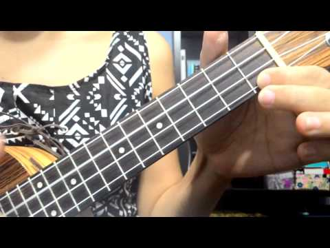 Sixpence None The Richer - Kiss Me Ukulele Cover