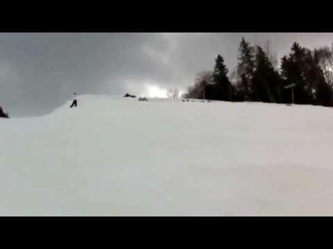 İlginç - Kayakçılardan İlginç Rekor Denemesi