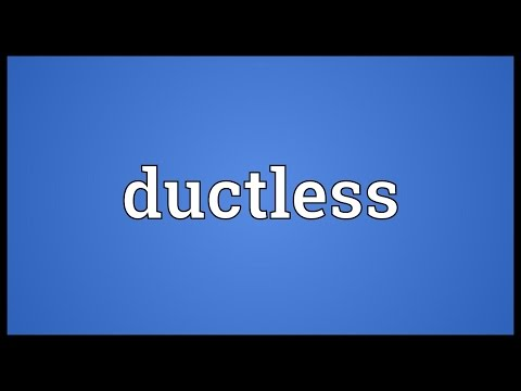 Header of ductless