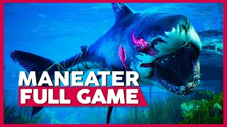 Maneater | Full Gameplay/Playthrough | No Commentary [PC,Switch,PS4,XB1] (60FPS)