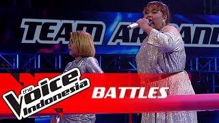 "Artha vs Adhel ""Survivor"" | Battles | The Voice Indonesia GTV 2018"