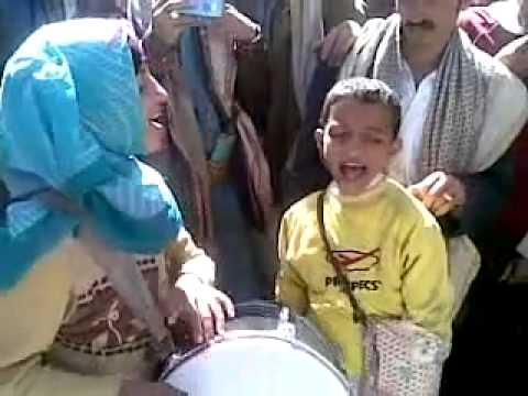 ابراهيم الراشدي اطفال اليمن مواهب الفقر 