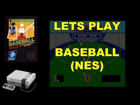 Let's Play Baseball for the NES
