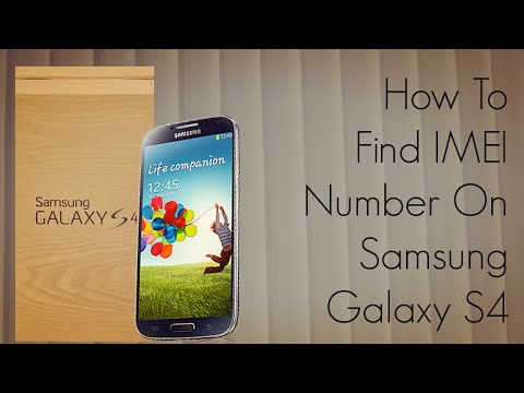 How To Find IMEI Number On Samsung Galaxy S4