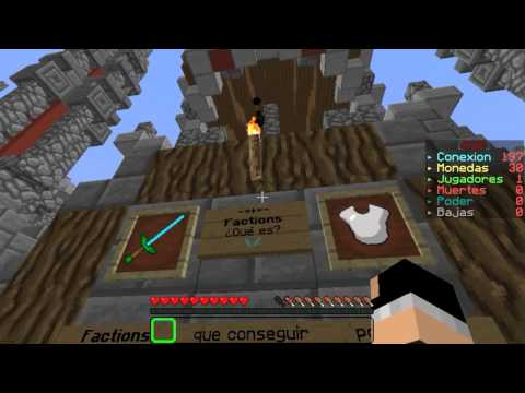 Minecraft Server 1.7.9 Survival Factions/SkyWars & SkyBlock - No Premium Sin Lag! 1.7! No Hamachi