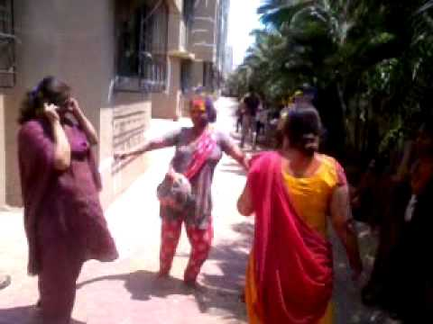 Ghoomer dance on Holi