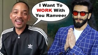 Will Smith PRAISES Ranveer Singh After Watching GULLY BOY