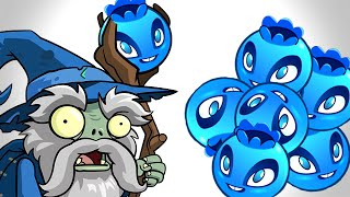 Plants vs. Zombies 2 - Wizard Invasion vs. Blueberry!