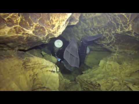 Francja  Nurkowanie  Fontaine De Trouffe  Kurs Iantd  Full Cave  SideMount