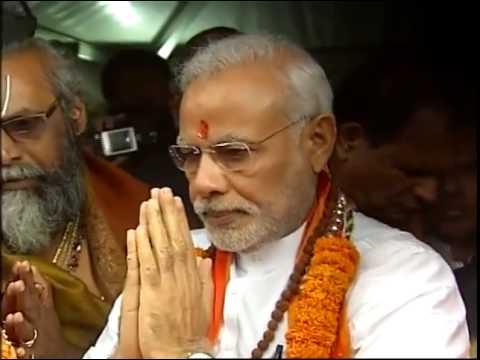 Narendra Modi visits Ganga Talao in Mauritius