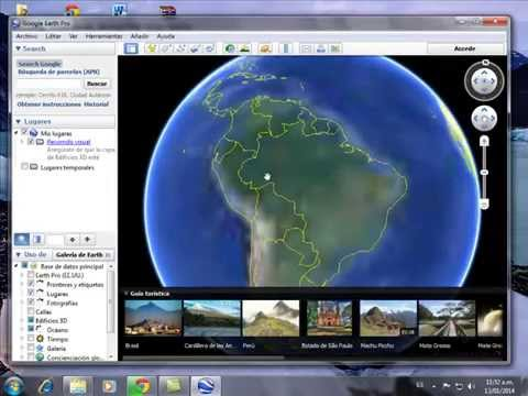 Como descargar Google Earth Full portable Español
