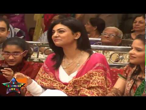 Sexy Sushmita Sen At Marriage Reception Of Dr.Trasi's Daughter