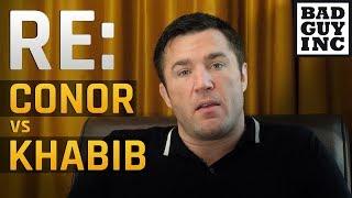 Chael Sonnen addresses MMA fans re: Khabib Nurmagomedov vs Conor McGregor