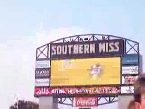 Southern Miss Entrance Video