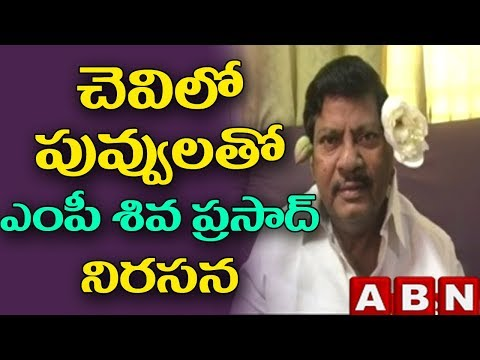 TDP MP Siva Prasad Comments on YCP MPs over resignation